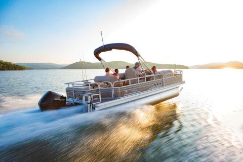 2020 Sun Tracker Fishin' Barge 22 Xp3