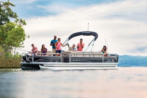 2020 Sun Tracker Fishin' Barge 24 Dlx
