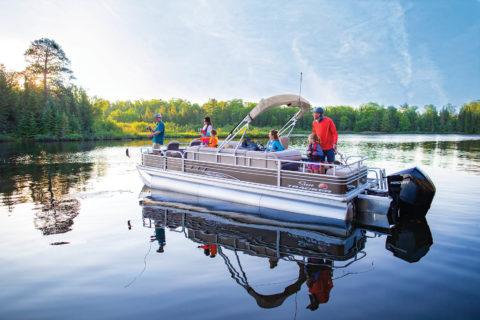 2020 Sun Tracker Fishin' Barge 24 Dlx Xp3